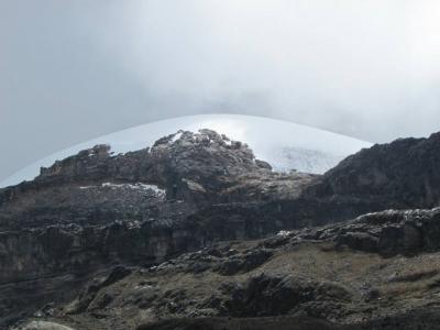 Nevado Santa Isabel, ruta del Condor